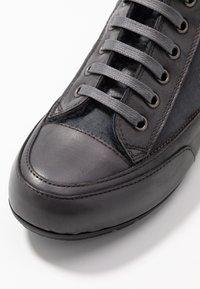 Candice Cooper - PLUS MONT - Sneakers high - antracite/tamponato antracite - 2