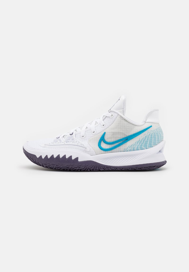 Nike Performance - KYRIE LOW 4 - Basketball shoes - white/laser blue/dark raisin