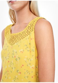 s.Oliver - Day dress - yellow aop mini flowers - 3
