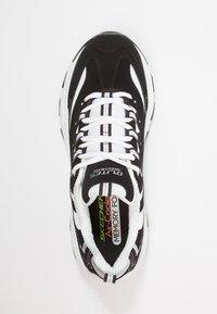 Skechers Sport - DLITES - Sneakers basse - black/white - 1