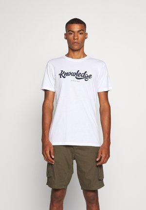 ALDER BIG TEE - T-shirt med print - 1010