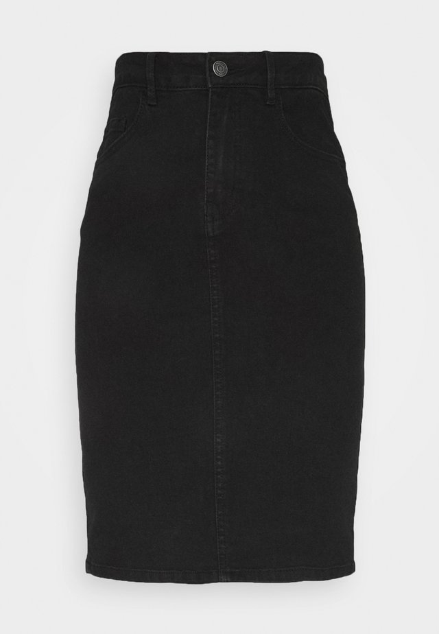 VMHOT PENCIL SKIRT  - Kokerrok - black