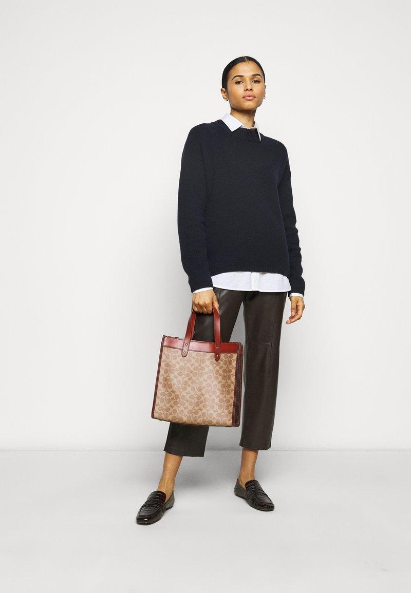 Coach - Handbag - tan/brown/rust