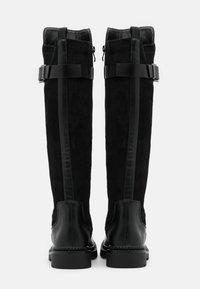 KHARISMA - Vysoká obuv - nero - 3
