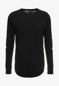 G-Star - SWANDO ART RELAXED  - Langærmede T-shirts - dark black - 3