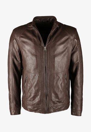 Leren jas - brown