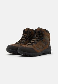 Jack Wolfskin - VOJO 3 TEXAPORE MID - Hikingsko - brown/phantom - 1