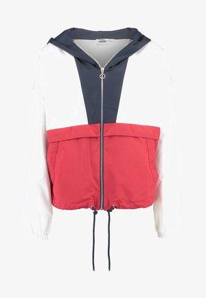 Summer jacket - navy/white/firered