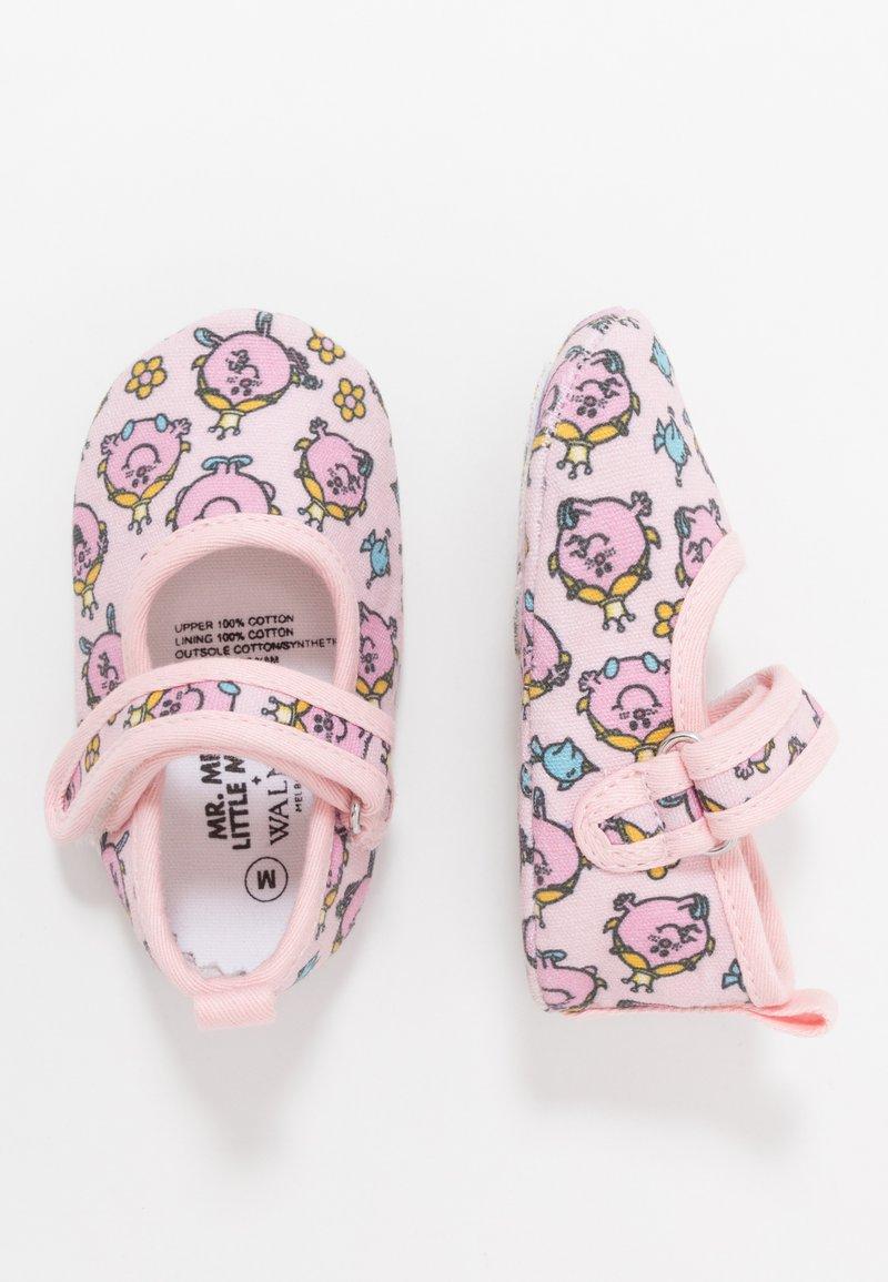 Walnut - MINI - First shoes - light pink