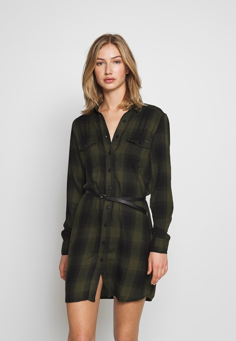 Pepe Jeans - CHELO - Shirt dress - brass