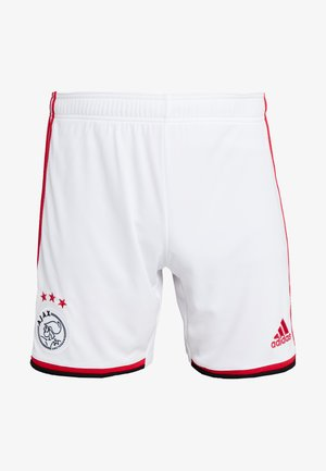 AJAX AMSTERDAM H SHO - Pantalón corto de deporte - white/bold red/black