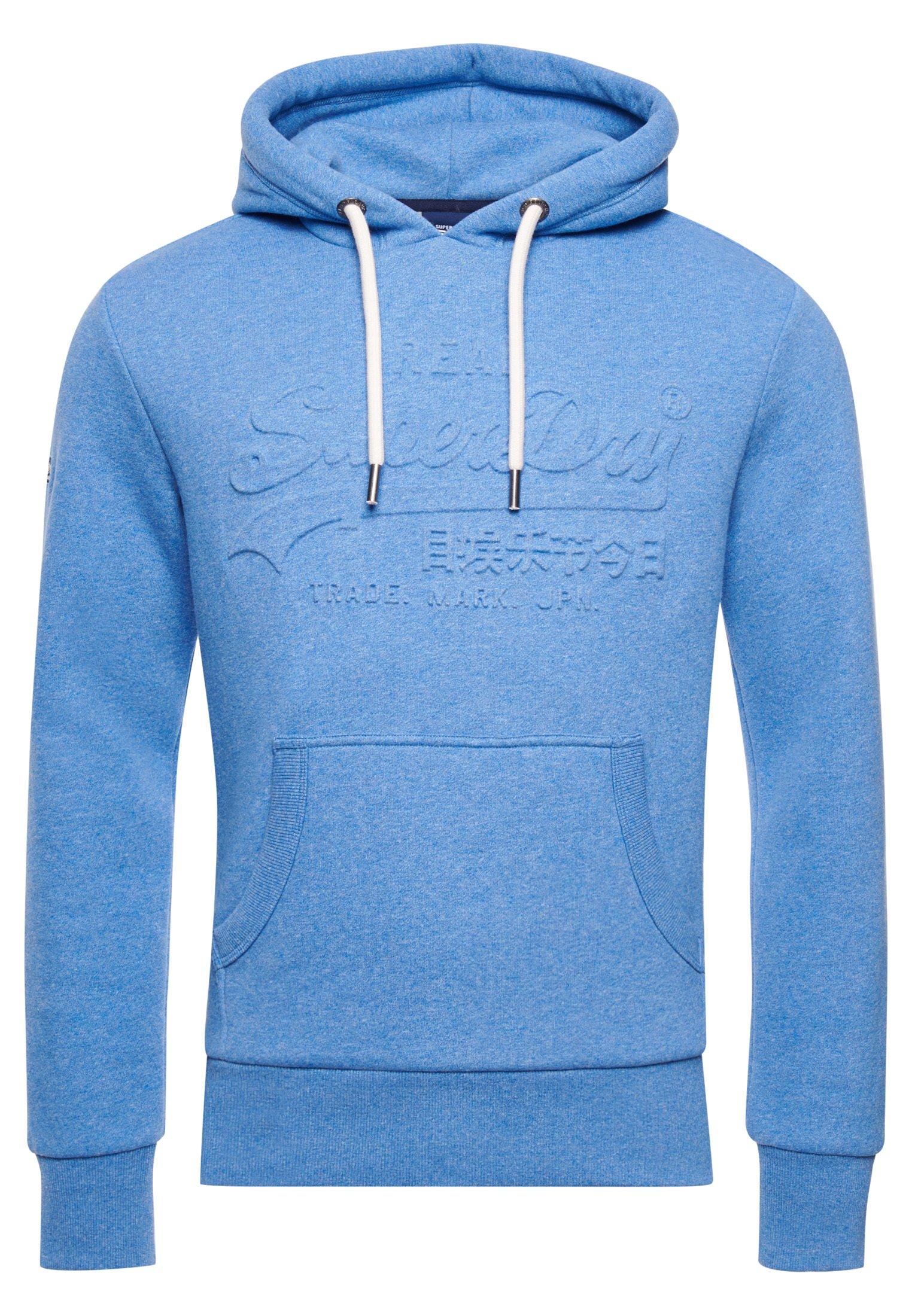 Herren Kapuzenpullover - blue