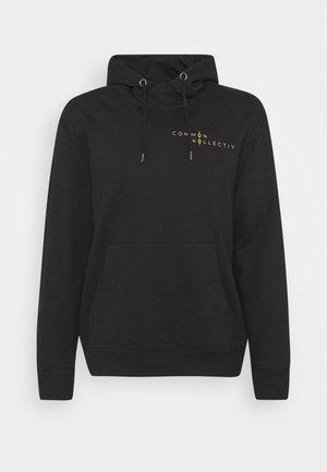 UNISEX BRONTE HOOD - Bluza z kapturem - black