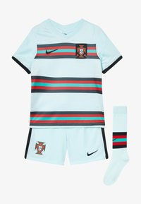 Nike Performance - PORTUGAL FPF LK NK BRT KIT AW SET - Sports shorts - teal tint/black - 5