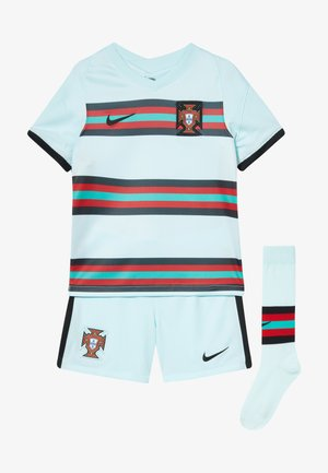 PORTUGAL FPF LK NK BRT KIT AW SET - Short de sport - teal tint/black