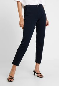 Marc O'Polo - PANTS TAILORED - Trousers - midnight blue - 0