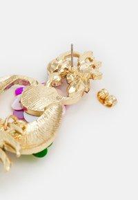Fire & Glory - FGPALM EARRINGS - Boucles d'oreilles - gold-coloured/multi - 1