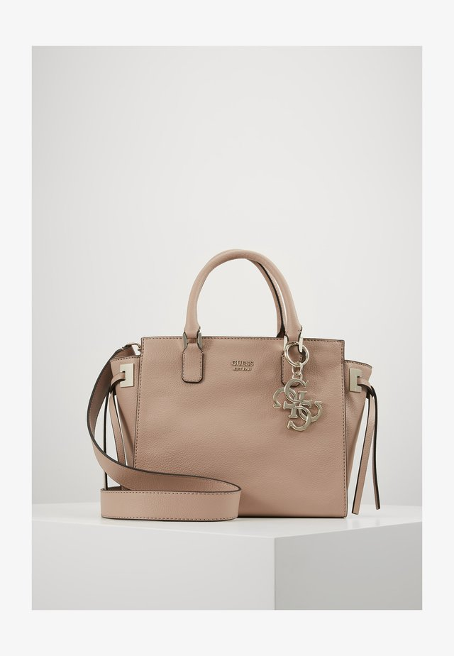DIGITAL STATUS SATCHEL - Handbag - dark nude