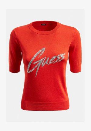 LOGO VOORKANT - T-shirt z nadrukiem - rot