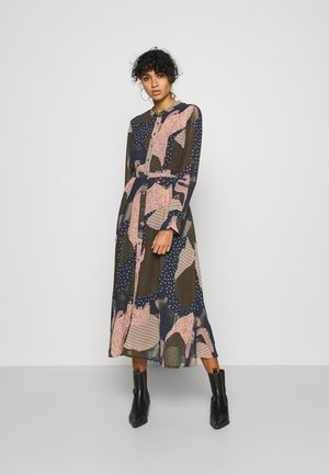NUKYNDALL DRESS - Shirt dress - deep depth