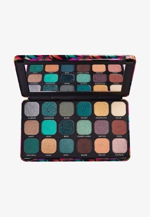 EYESHADOW PALETTE FOREVER FLAWLESS CHILLED WITH CANNABIS SATIVA - Øjenskyggepalette - multi