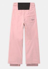 Roxy - DIVERSION MEMO - Zimní kalhoty - powder pink - 1