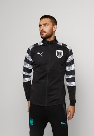 ÖSTERREICH ÖFB STADIUM JACKET - National team wear - black/white