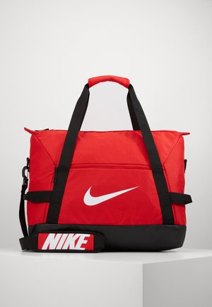 TEAM DUFF  - Sports bag - university red/black/white