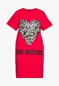Love Moschino - Freizeitkleid - red - 4