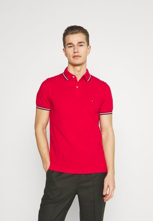 TIPPED SLIM - Polo - primary red
