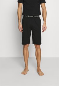 Polo Ralph Lauren - LOOP BACK  - Pyjama bottoms - black - 0