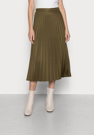WOVEN SKIRTS - Áčková sukně - olive