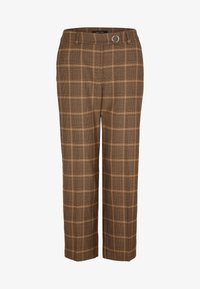 comma - Trousers - black woven check - 4