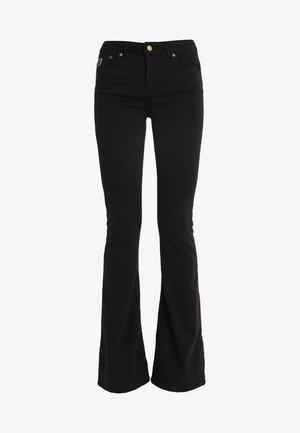 RAVAL LEA SOFT COLOUR - Trousers - black