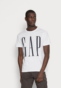 GAP - CORP LOGO - Print T-shirt - white - 0