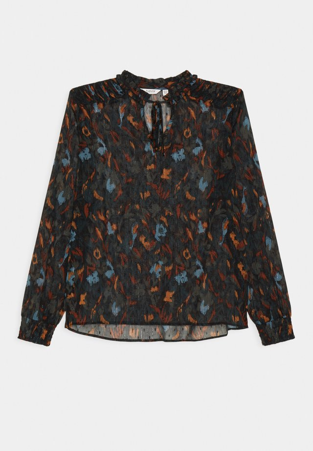 BYHELMI  - Blouse - deep teal mix