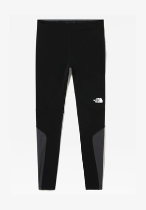 M WINTER WARM TIGHT - Tights - tnf black/asphalt grey