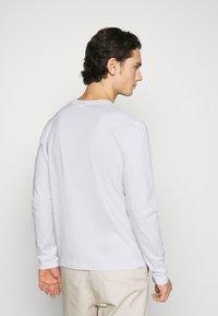 Calvin Klein - LONG SLEEVE LOGO 2 PACK - Top sdlouhým rukávem - black/white - 3
