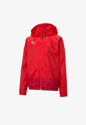 TEAMGOAL TRAINING - Waterproof jacket - rot