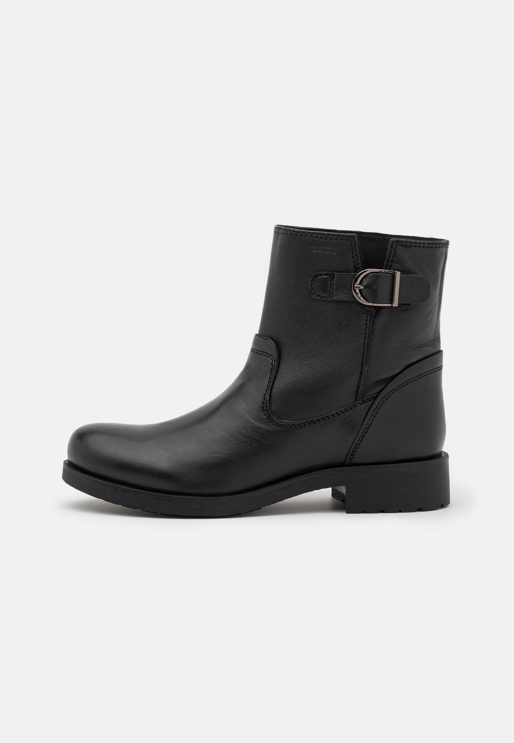colisión Collar Albardilla  Geox RAWELLE - Classic ankle boots - black - Zalando.co.uk