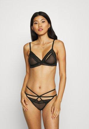 BRALETTE STRING SET - Triangle bra - black