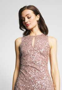 Lace & Beads - MAXI - Occasion wear - rose - 4