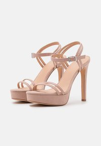 Even&Odd Wide Fit - High heeled sandals - nude - 2