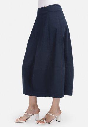 A-line skirt - dunkel blau