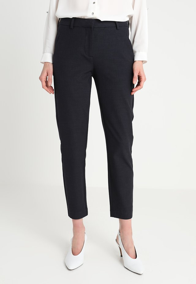 KYLIE CROP - Trousers - midnight