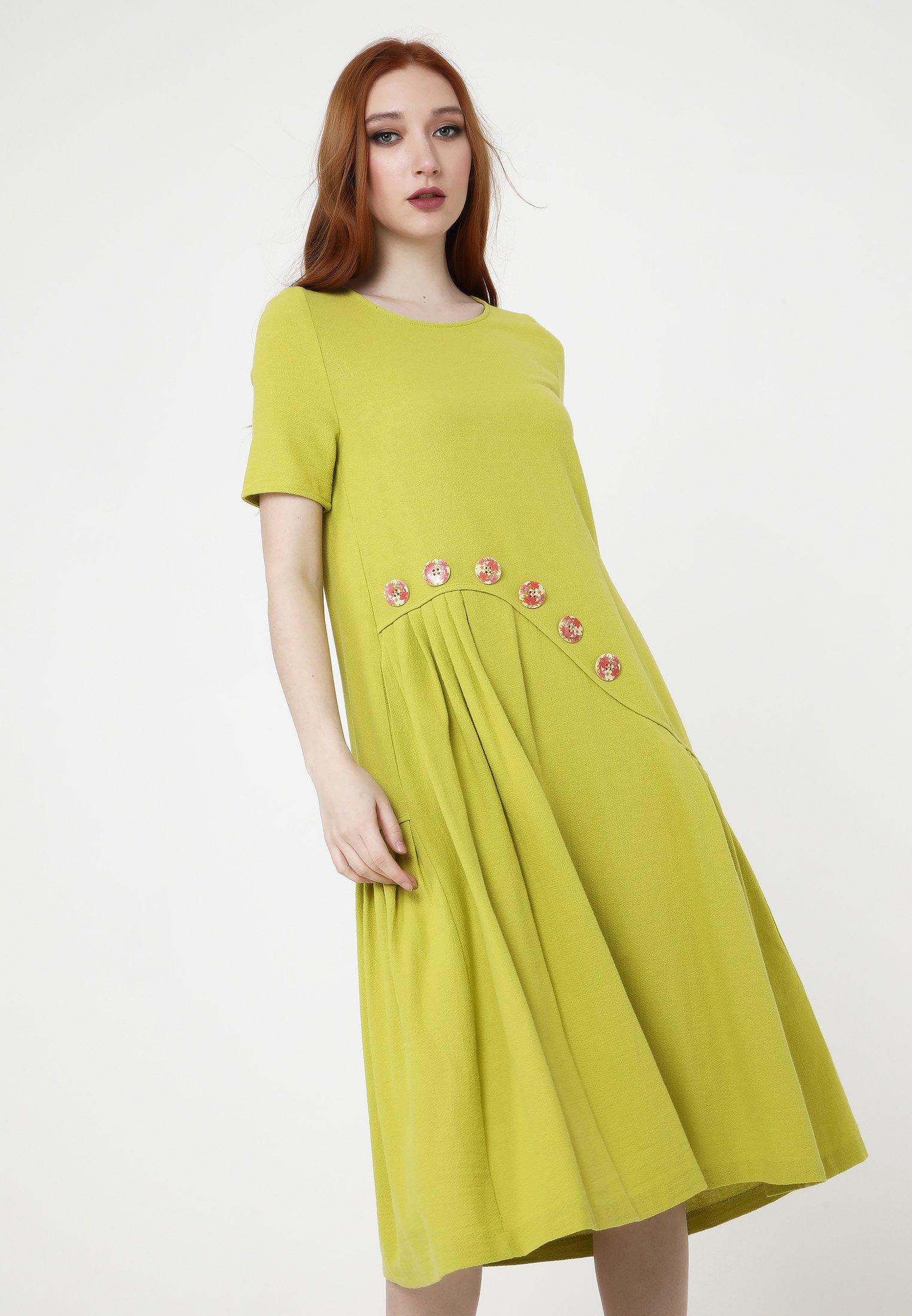 Damen SARINDA - Freizeitkleid - mustard yellow
