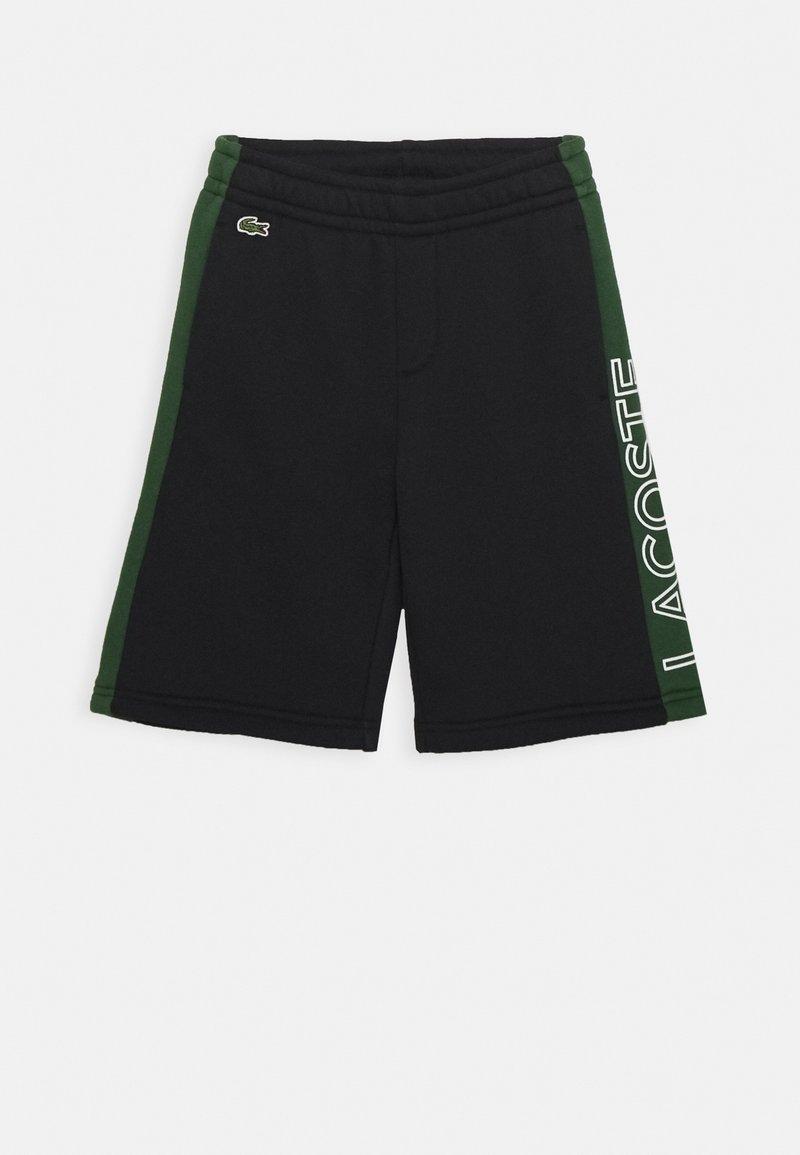 Lacoste Sport - UNISEX - Sports shorts - abysm/green/white