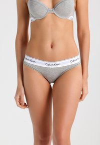 Calvin Klein Underwear - MODERN THONG - String - grey heather - 0