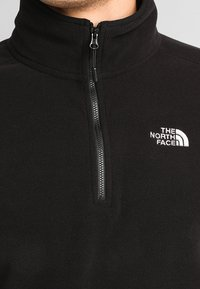 The North Face - GLACIER 1/4 ZIP - Forro polar - black