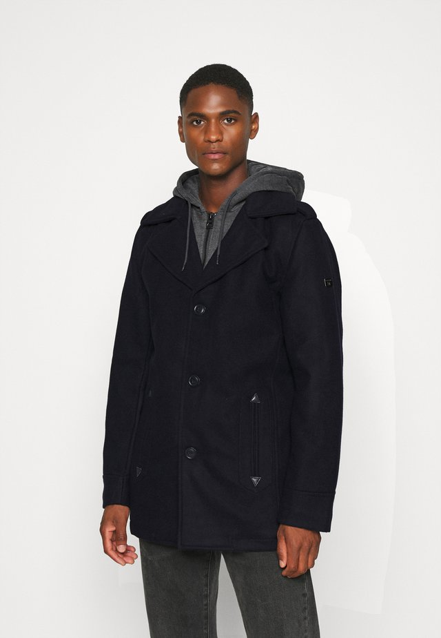 ADAIR - Short coat - dark blue